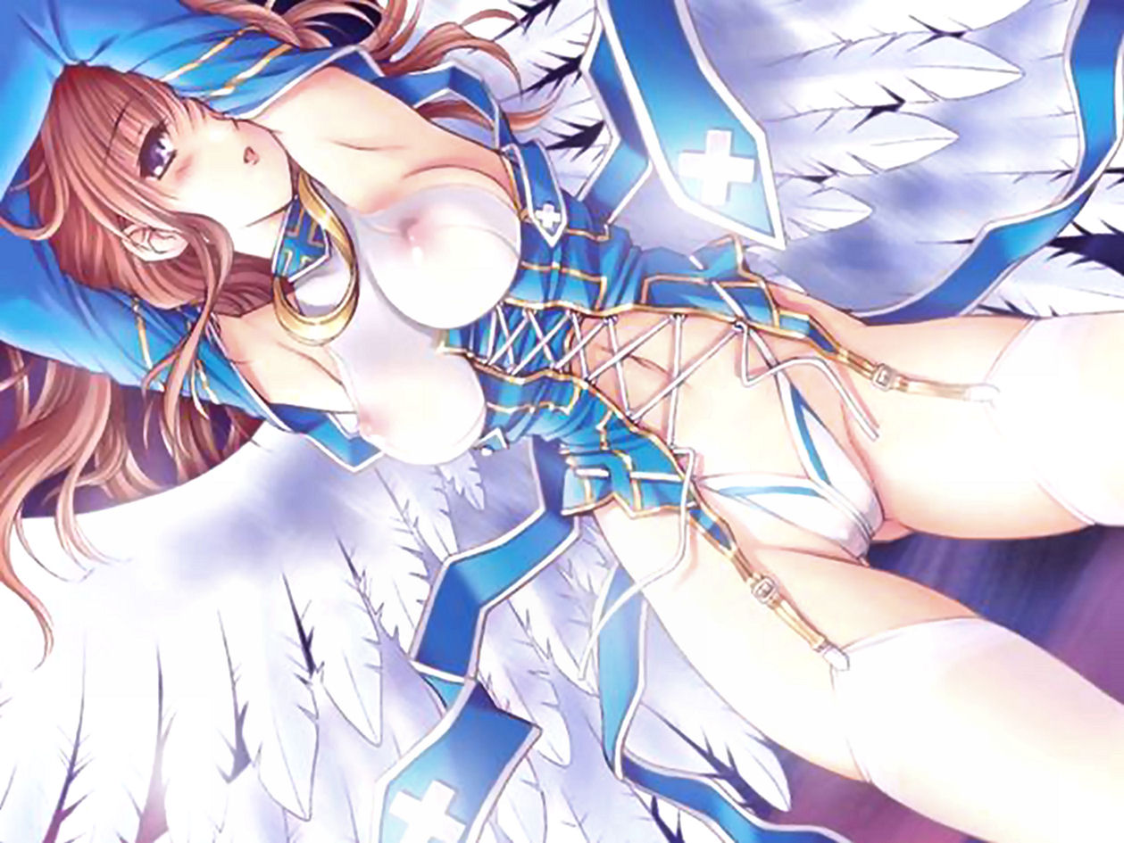 Angel and demon hentai adult actress